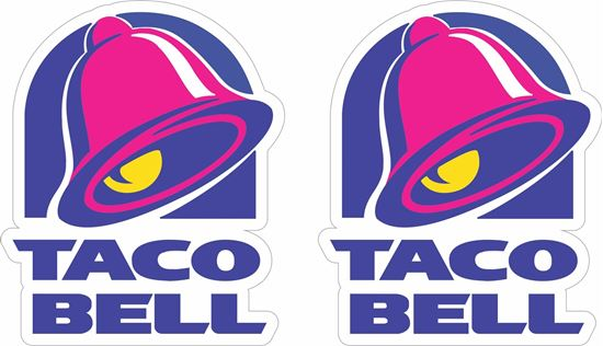 Picture of Taco Bell Decals / Stickers