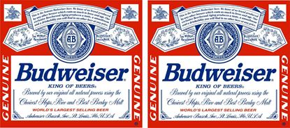 Picture of Budweiser Decals / Stickers