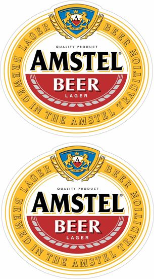 Picture of Amstel Beer Decals / Stickers