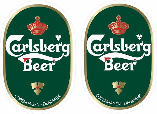 Picture of Carlsberg Decals / Stickers