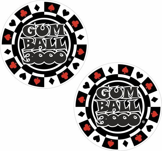 Picture of Gum Ball 3000 Decals / Stickers