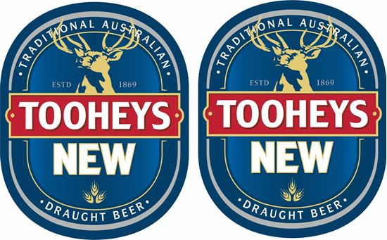 Picture of Tooheys New Decals / Stickers
