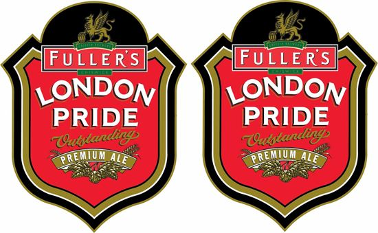 Picture of Fuller's London Pride Decals / Stickers