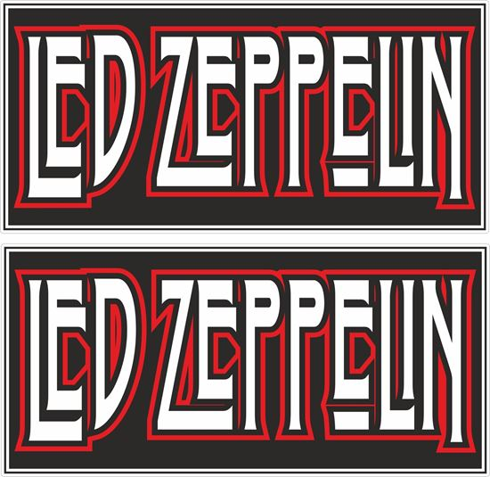 Picture of Led Zeppelin Decals / Stickers
