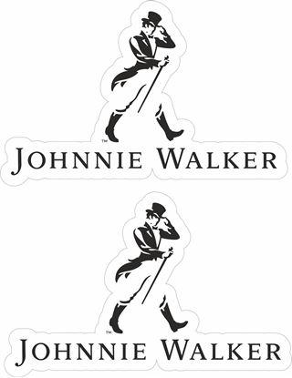 Picture of Johnnie Walker Decals / Stickers