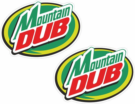 Picture of Mountain Dub Decals / Stickers