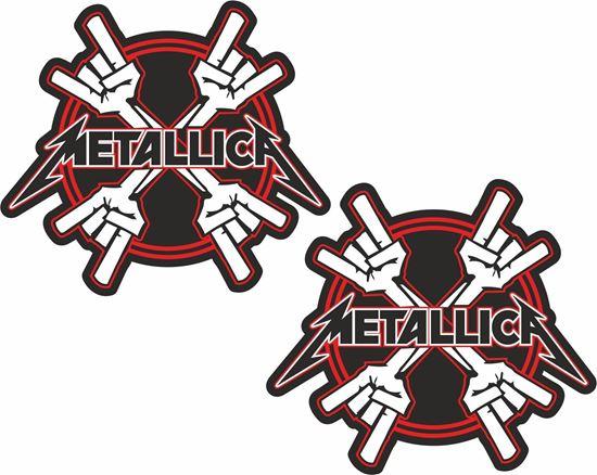 Picture of Metallica Decals / Stickers