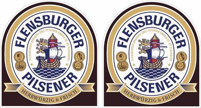 Picture of Flensburger Pilsener Decals / Stickers