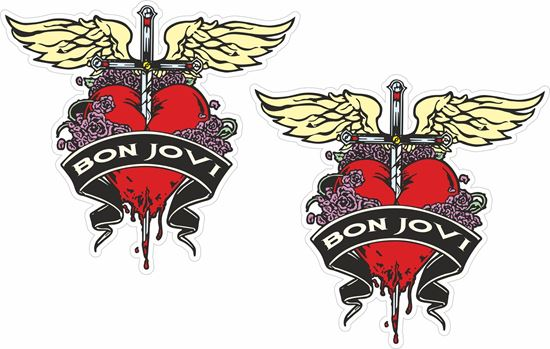 Picture of Bon Jovi Decals / Stickers