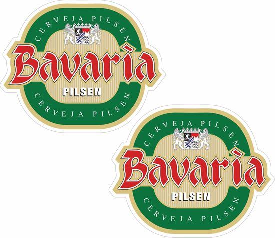 Picture of Bavaria Pilsen Decals / Stickers