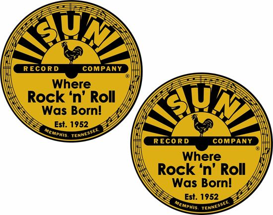 Picture of Sun Record Company Decals / Stickers
