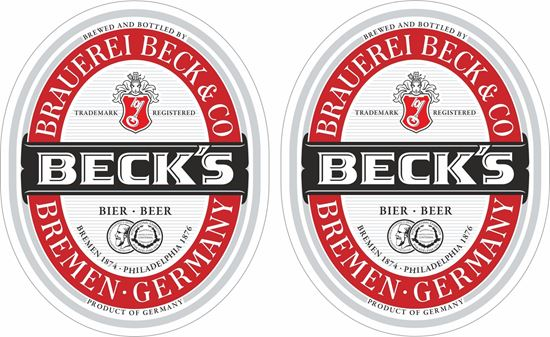 Picture of Beck's Decals / Stickers