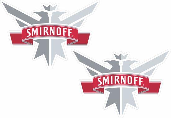 Picture of Smirnoff Decals / Stickers