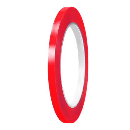 Picture of Red Gloss PVC Stripe (6mm x 35meters)
