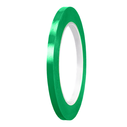 Picture of Grass Green Gloss PVC Stripe (6mm x 35meters)