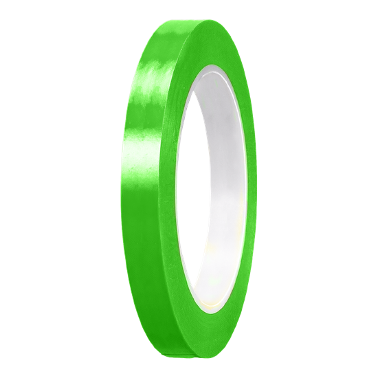 Picture of Lime Green Gloss cast PVC Stripe (10mm x 35meters)