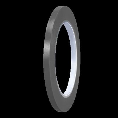 Picture of Dark Grey Gloss PVC Stripe (6mm x 35meters)