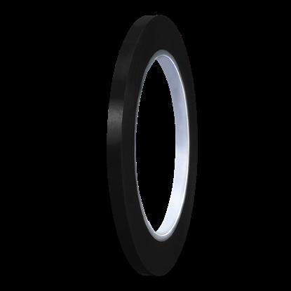 Picture of Black Matte PVC Stripe (6mm x 35meters)