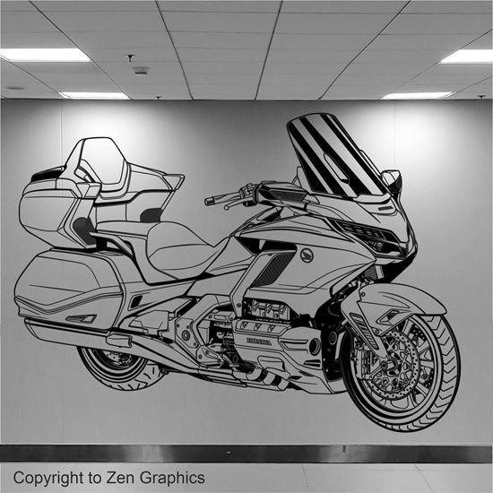 Picture of Honda Goldwing 2018  Wall Art sticker