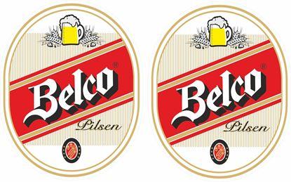 Picture of Belco Pilsen Decals / Stickers