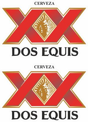 Picture of Dos Equis Decals / Stickers