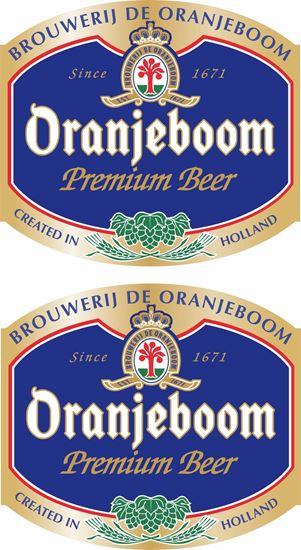 Picture of Oranjeboom Beer Decals / Stickers