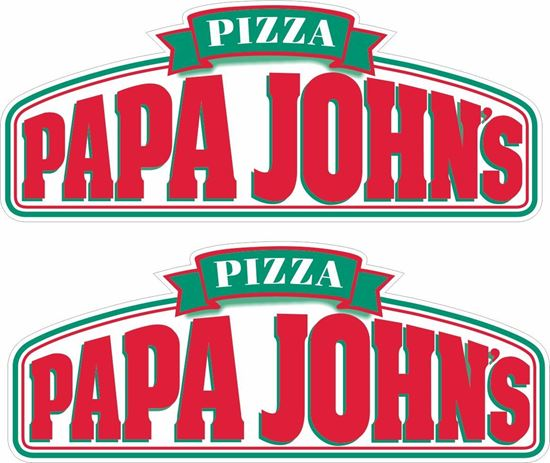 Picture of Papa John's  Decals / Stickers