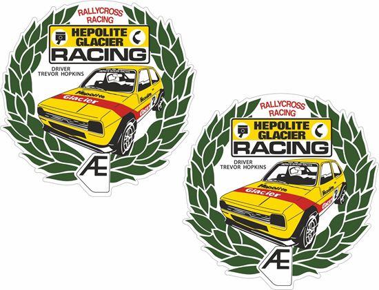 Picture of Trevor Hopkins Hepolite Rallycross Motorsport  Decals / Stickers