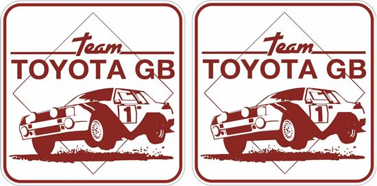Picture of Team Toyota GB Decals / Stickers
