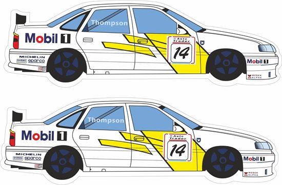 Picture of Vauxhall James Thompson BTCC  Decals / Stickers