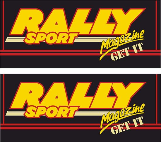 Picture of Rally Sport Magazine Decals / Stickers