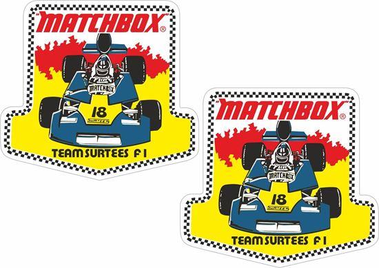 Picture of Matchbox Team Surtees Formula 1 Decals / Stickers