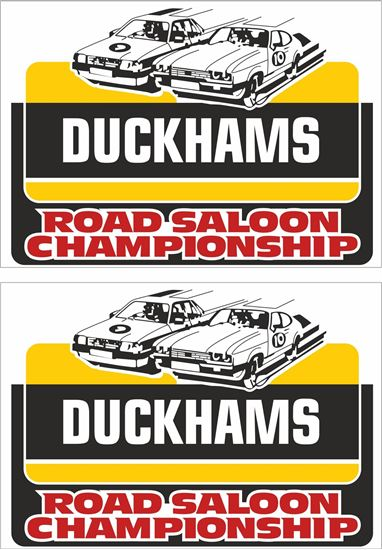 Picture of Duckhams Road Saloon Championship Racing Decals / Stickers