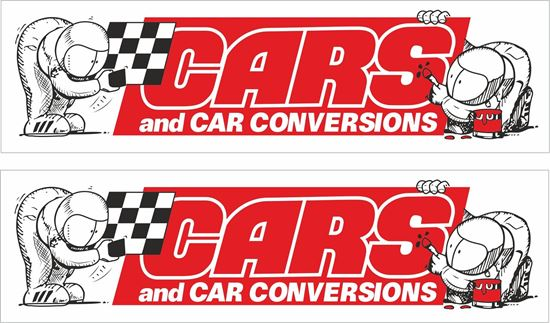 Picture of Cars & Car Conversions Magazine Decals / Stickers