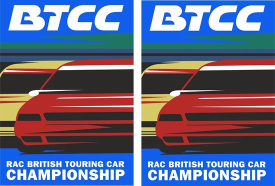 Picture of British Touring Car Championship Decals / Stickers