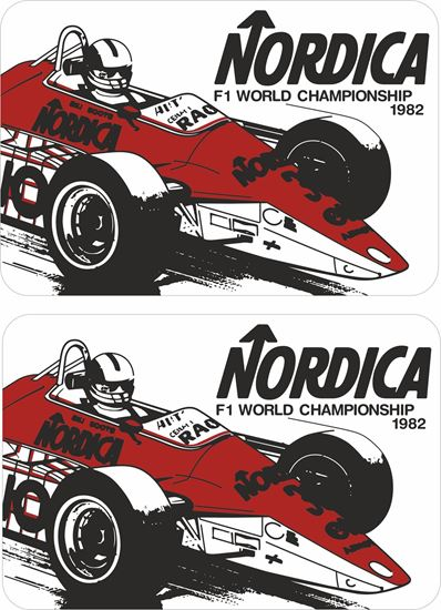 Picture of 1982 Arrows Formula 1 World Championship Team Decals / Stickers