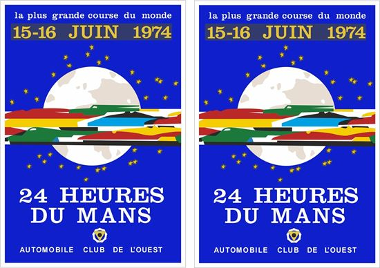 Picture of 1974 Le Mans 24 hour  Decals / Stickers