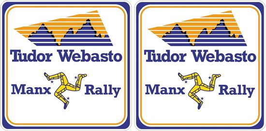 Picture of Tudor Webasto Manx Rally Decals / Stickers