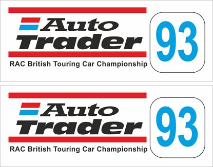 Picture of 1993 Auto Trader RAC British Touring Car Decals / Stickers