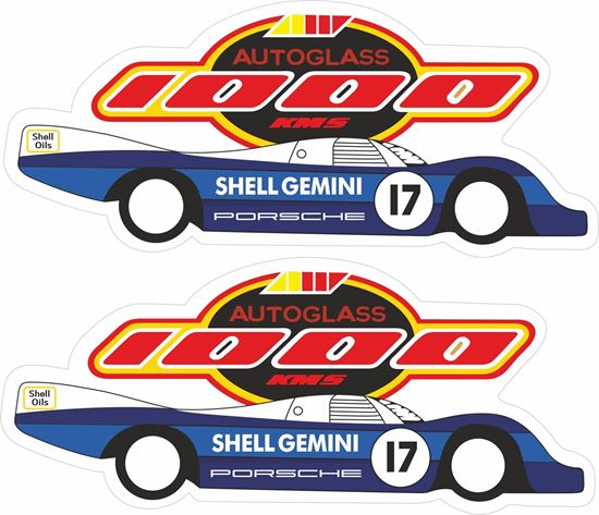 Picture of 1987 1000kms Silverstone  962C Sports Decals / Stickers