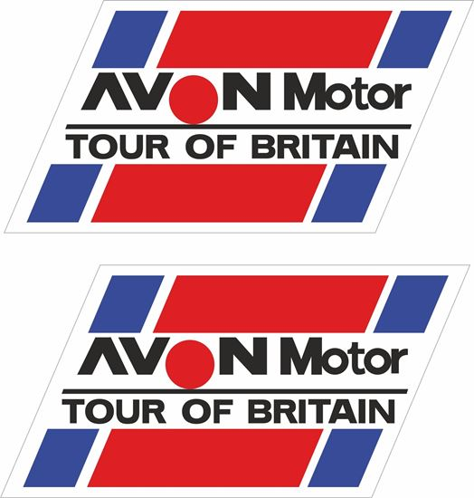 Picture of Avon Motor Tour of Britain Rally Decals / Stickers