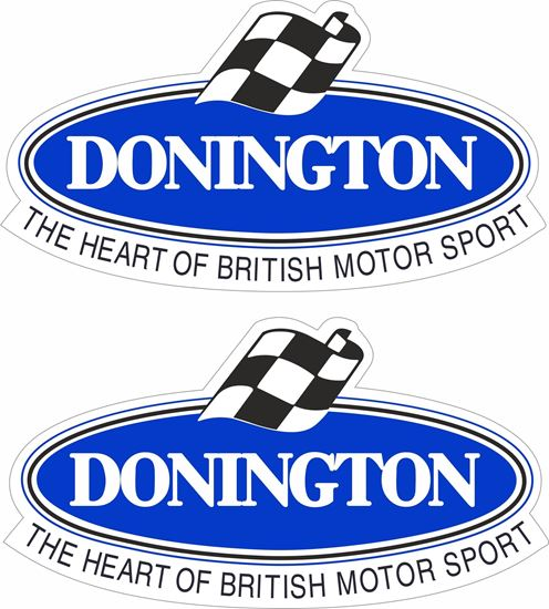 Picture of Donington Park Decals / Stickers