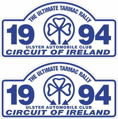 Picture of 1994 Circuit of Ireland Decals / Stickers