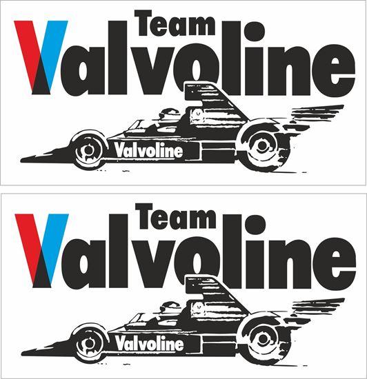 Picture of Team Valvoline Formula 5000 Decals / Stickers