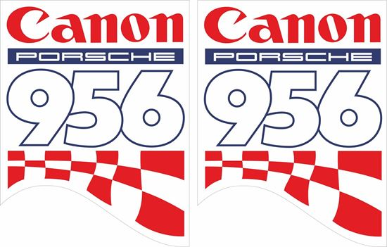 Picture of Canon 956 Le mans Decals / Stickers