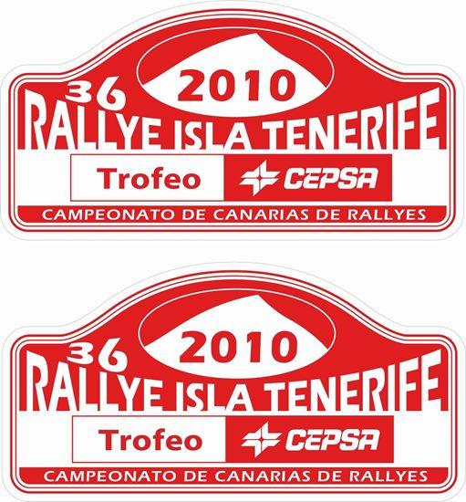 Picture of Rallye Isla Tenerife Decals / Stickers