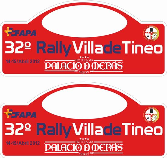 Picture of Rally Villa de Tineo Decals / Stickers