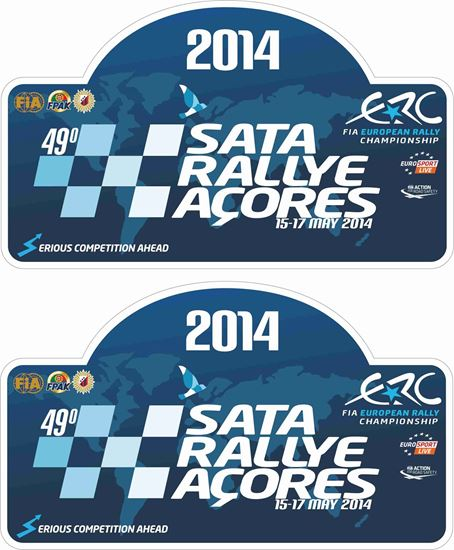 Picture of Sata Rallye Acores Decals / Stickers