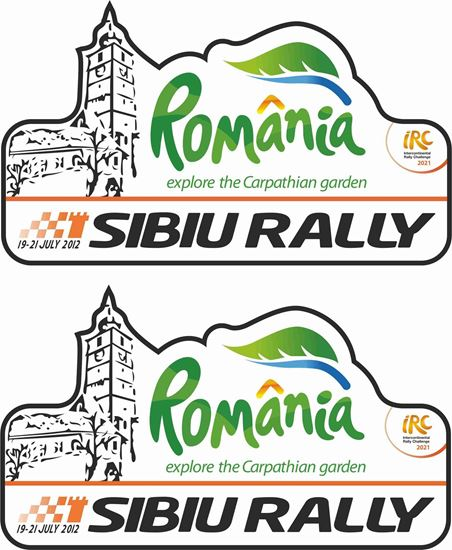 Picture of Romania Sibiu Rally Decals / Stickers