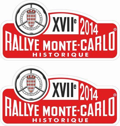 Picture of Rally Monte-Carlo Historique Decals / Stickers